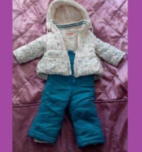 Теплый Зимний костюм для любимой дочки