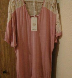 Блузы.
