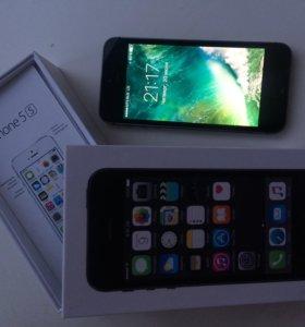iPhone 5s 16 Gb ( чёрный )