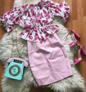 Комплект/юбка/блузка