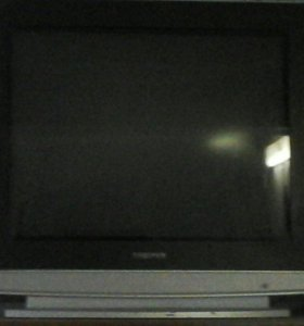 цветной б/у телевизор трони