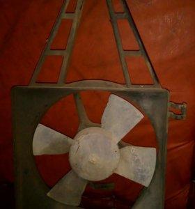 Радиатор ОПЕЛЬ ВЕКТРА-А+ вентилятор охлаждения