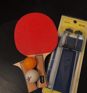 Спарринг по настольному теннису