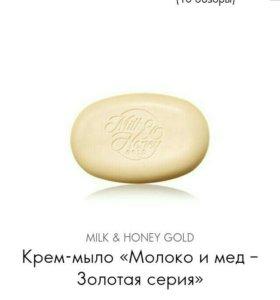 """Крем-мыло """" Молоко и мед - золотая серия"""""""