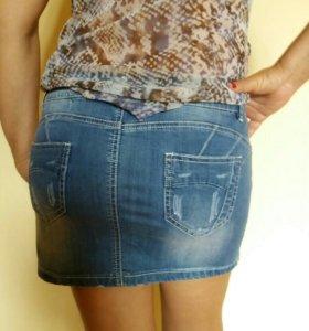 Модная юбка джинсовая Froggy