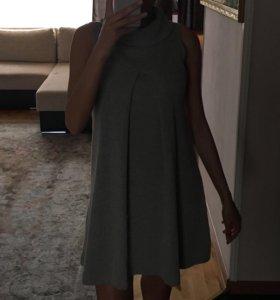 Платье ZARA шерстяное