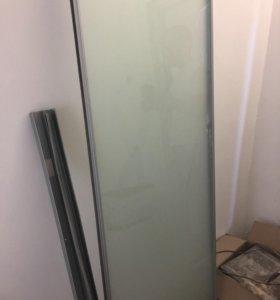 Двери матовое стекло