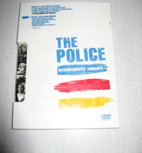 """DVD Police """"Synchronicity Concert"""" Deluxe Edition"""