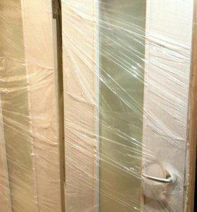 Двери новые 200на60 со стеклом