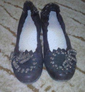 Туфли кожанные PAOLO CONTE 38 р