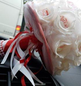 Букет невесты из конфет