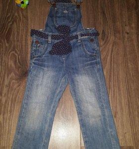 Комбинезон джинсовый 92-98