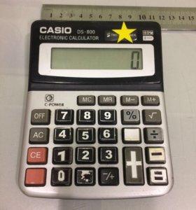 Калькулятор CASIO DS-800