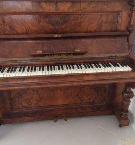 Пианино антиквариат раритет немецкое