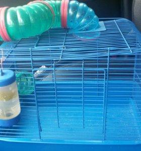 Клетка для хомяка, крысы, грызунов