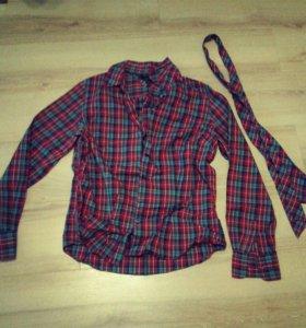Фирменная женская рубашка