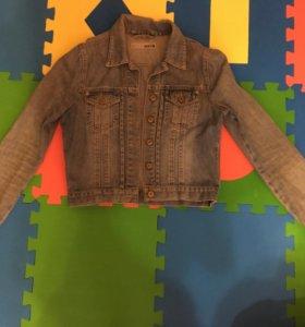 Куртка джинсовая, короткая, размер 42-44