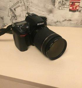 Фотоаппарат Никон D7000+3 объектива+фильтры