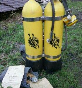 Продается акваланг советского производства, новый!