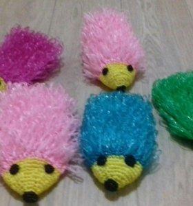 Мочалки игрушки