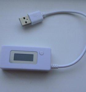 Новый USB тестер (измерение ёмкости PowerBank)