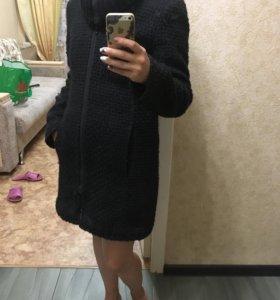 демисезонное тёплое пальто