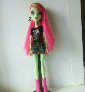 Кукла Monster High-Венера Макфлайтрап