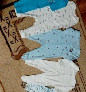 Пижамки ползунки