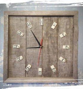 Часы ручная работа дерево
