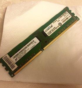 Crucial 4GB DDR-3 1333MHz PC3-10600