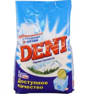 стиральный порошок Deni