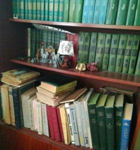 Книнжная библиотека, книги