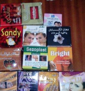 Крема и мази Египетской фирмы Харраз
