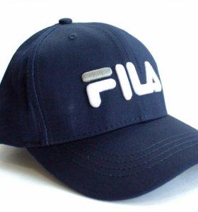 Синяя кепка Fila