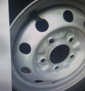 Диск колёсный 1шт R15 5x139.7 Kia Bongo 3 новый
