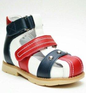 Ортопедические сандалии новые