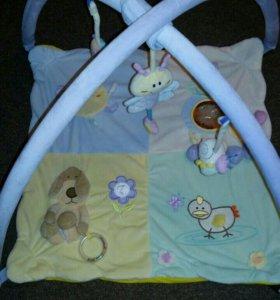 Игровой коврик для новорожденного