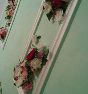 Оформление комнаты невесты