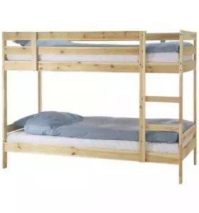 Двухярустная кровать