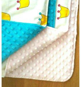 Детское одеяло конверт плед