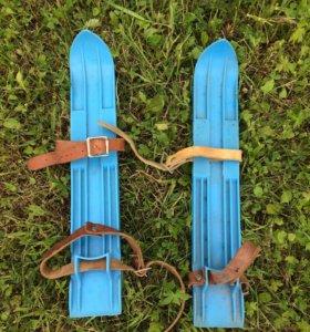 мини- лыжи детские