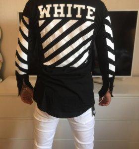 Мужская кофта White