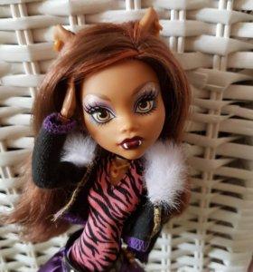 Кукла Monster High Клодин Вульф базовая перевыпуск