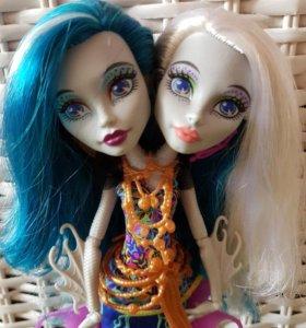 Куклы Monster High базовая Пэри и Перл