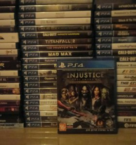 Диск Playstation 4 Injustice ps4 игра