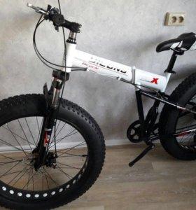 Продам велосипед складной Фэтбайк 26 колеса новый