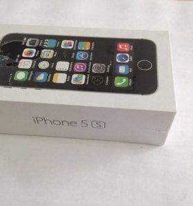iPhone 5s в упаковке