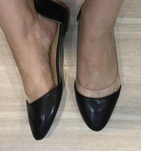 Новые балетки чёрные