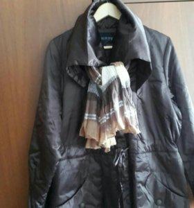 Куртка новая (весна-осень), коричневая.