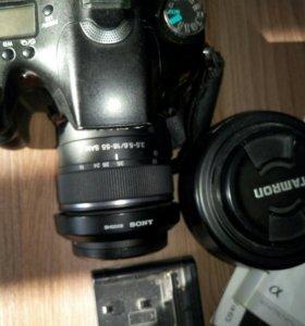 Фотоаппарат sony a77